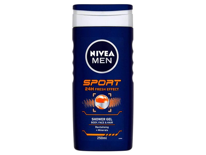 ژل شست و شو چندمنظوره حمام، مخصوص مردان ورزشکار Nivea